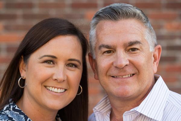 Headshot of Denise and Joe Lentine.