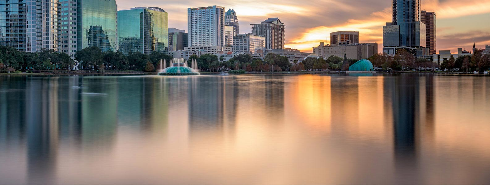Orlando City at Dusk